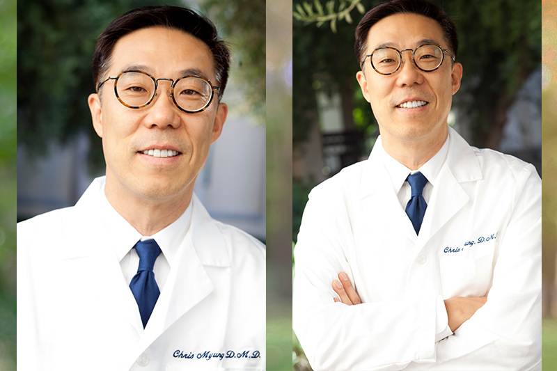 Meet Dr. Chris Myung, DMD - Inglewood Dentist Cosmetic and Family Dentistry